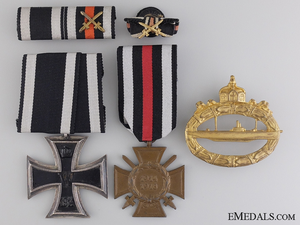 eMedals-A First War Submariner Collection to Maschinistsmaat Max Detlef Johannes