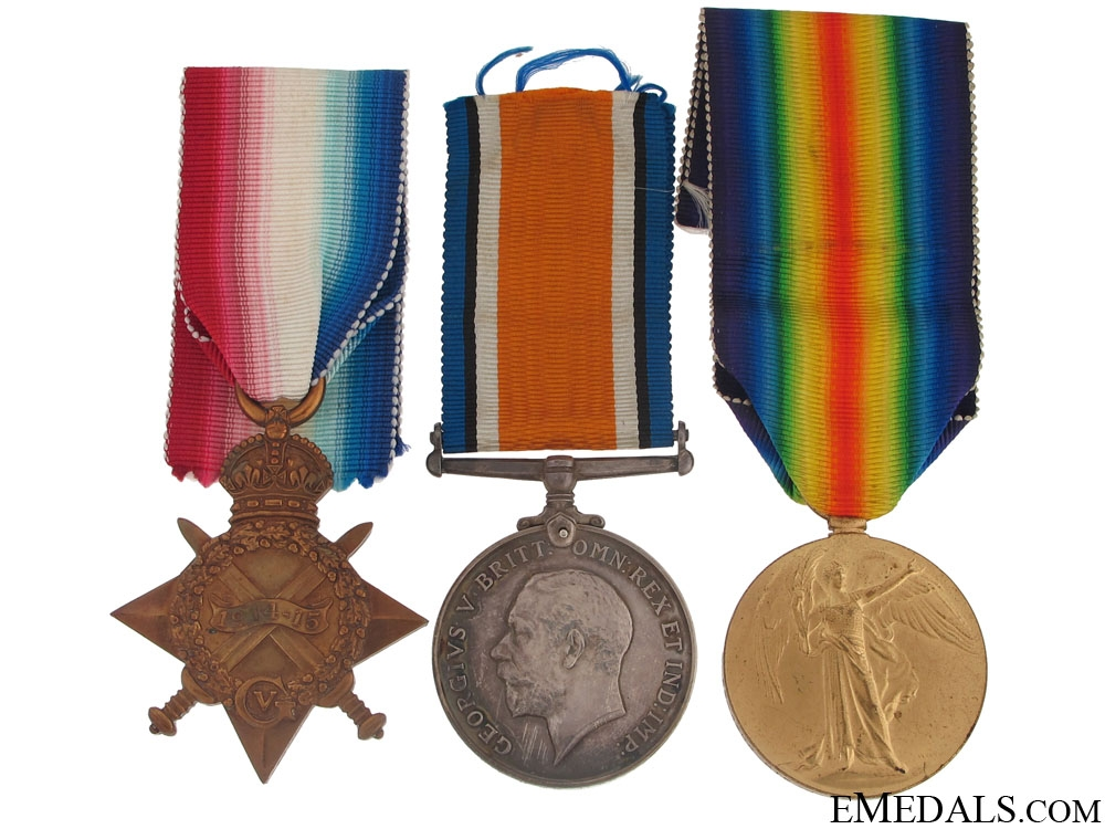 eMedals-A First War Trio to the Army Veterinary Corps