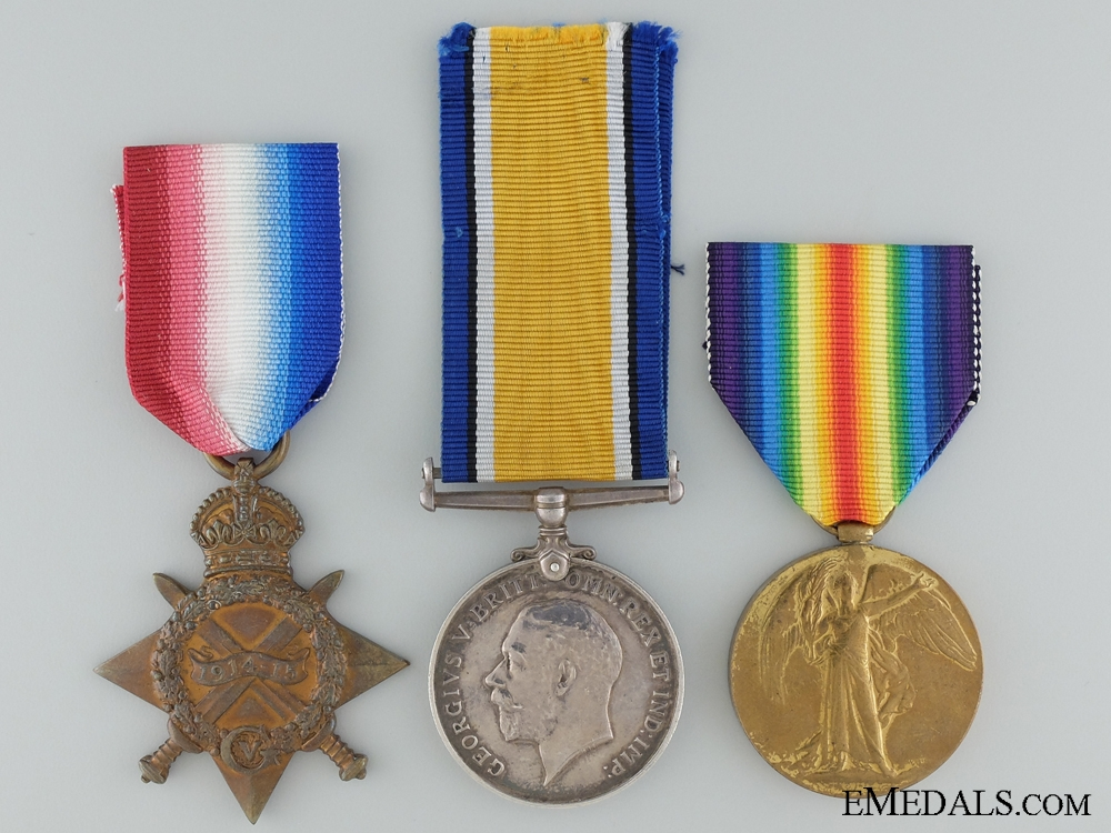 eMedals-A First War Trio to the Royal Navy