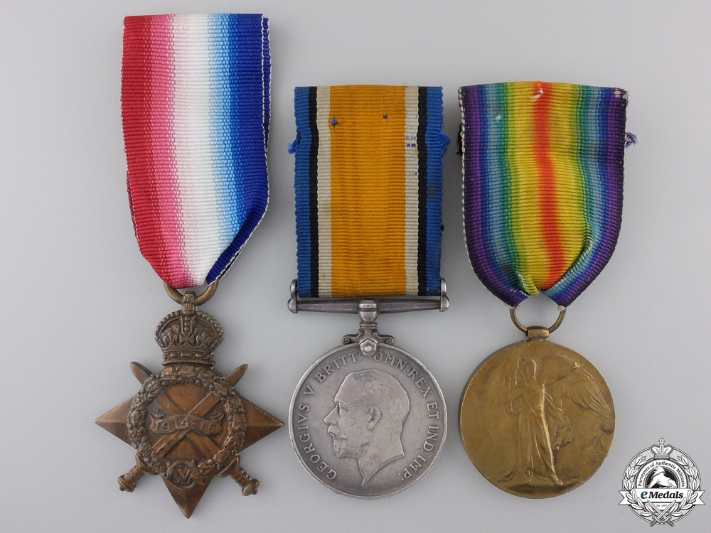 "eMedals-A First War Trio to the 3rd Battalion ""Toronto Regiment"""