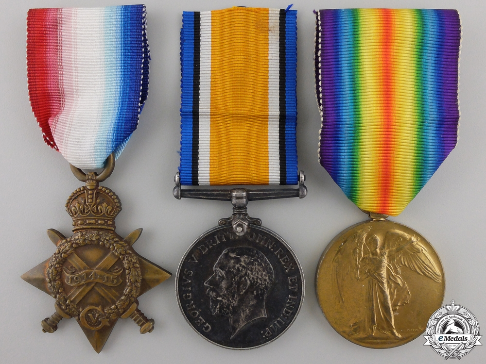 eMedals-A First War Trio to the Royal Engineers