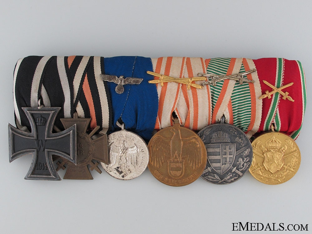 eMedals-A First War Veterans Medal Bar