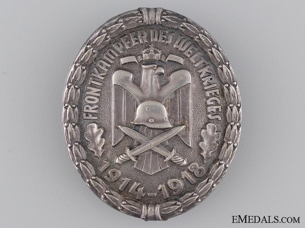 eMedals-A First War Veterans Association Front Fighter Badge