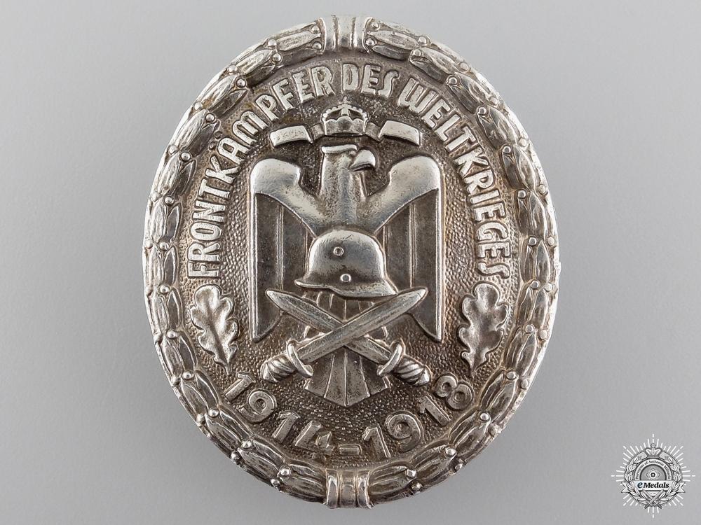 eMedals-A First War Veteran's Front Fighter Badge