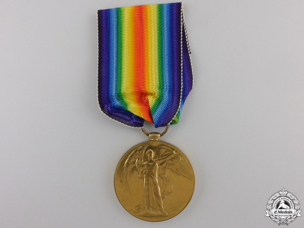 eMedals-A First War Victory Medal to the 58th Battalion; Wounded