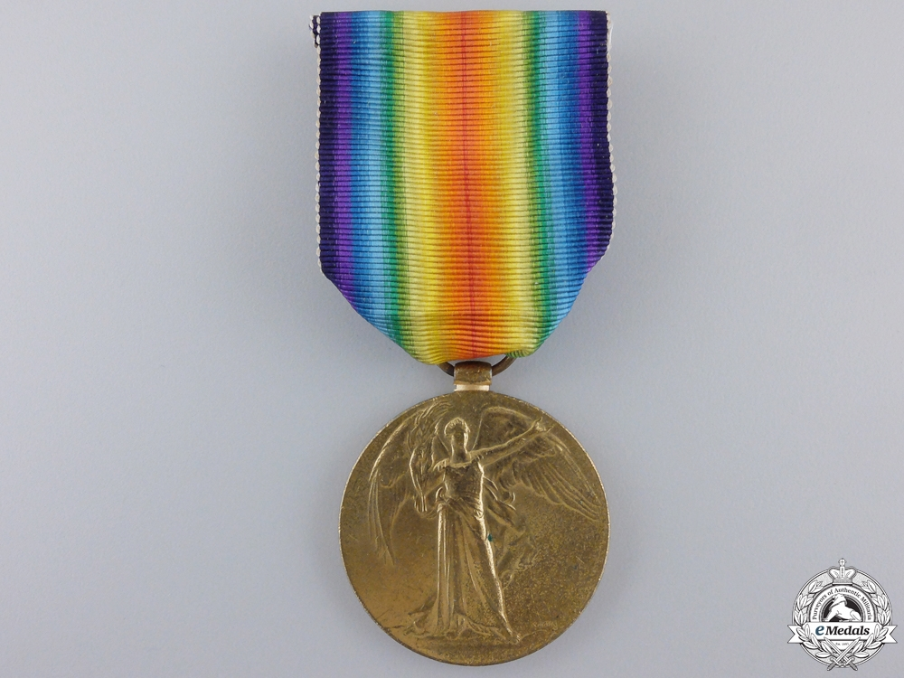 eMedals-A First War Victory Medal to the 7th Canadian Infantry; KIA