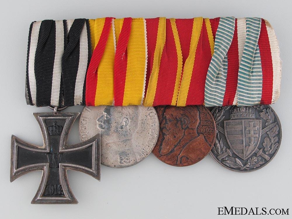 eMedals-A Four Piece German Medal Bar