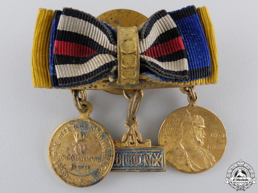 eMedals-A Franco Prussian War Veteran's Miniatures