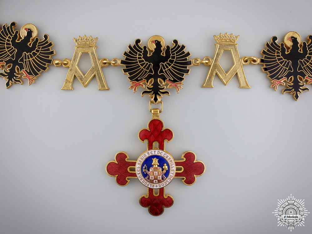 eMedals-A Franco-Spanish Order of Alfonso X the Wise; Collar