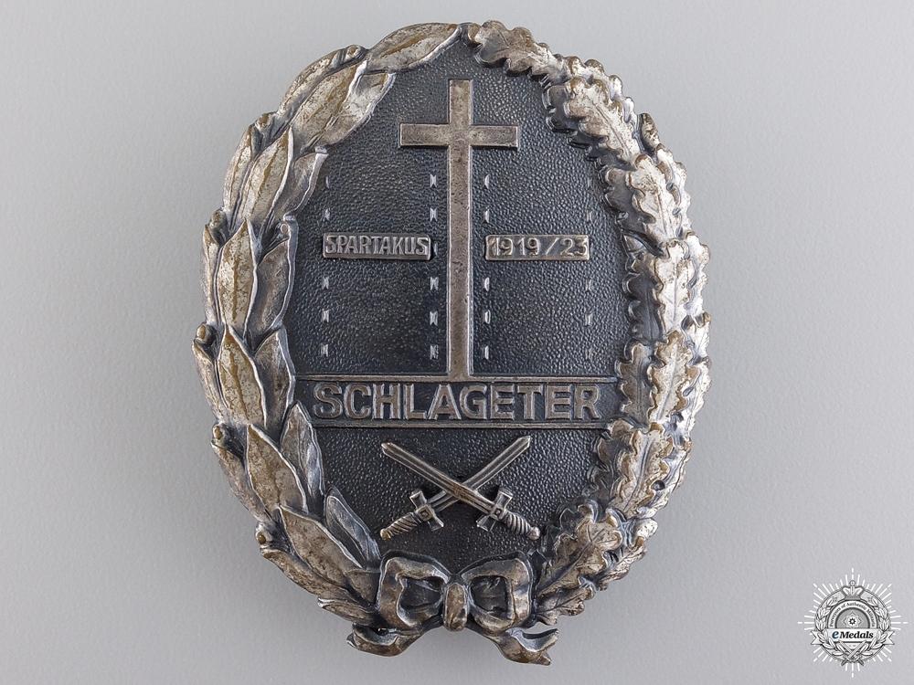 eMedals-A Freikorps Schlageter Badge; Type II