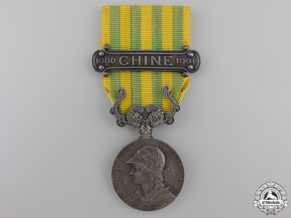 eMedals-A French China Campaign Medal 1900