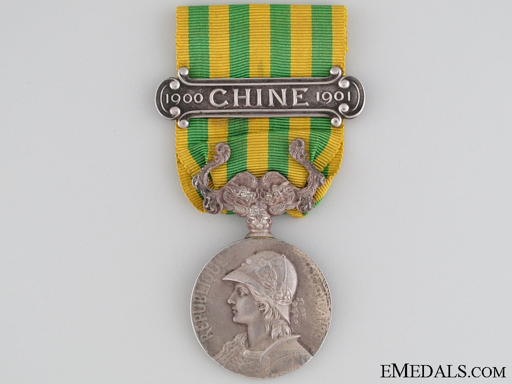 eMedals-A French China Medal 1900-1901