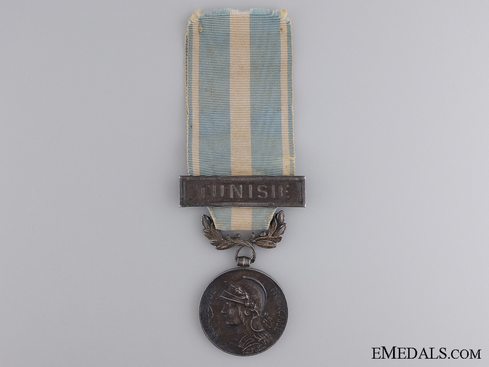 eMedals-A French Colonial Medal; Tunisie