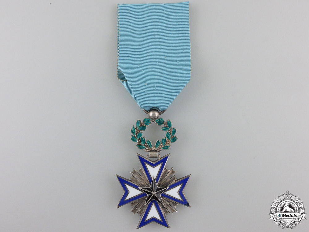 eMedals-A French Colonial Order of the Black Star of Benin; Knight