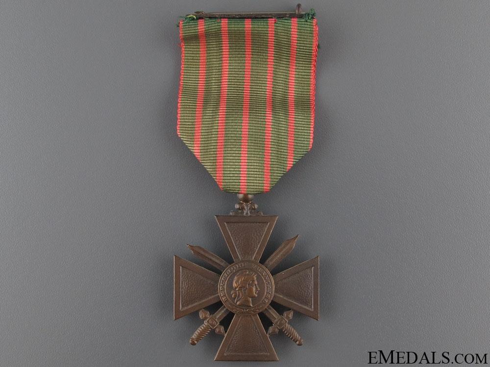 eMedals-A French Croix de Guerre