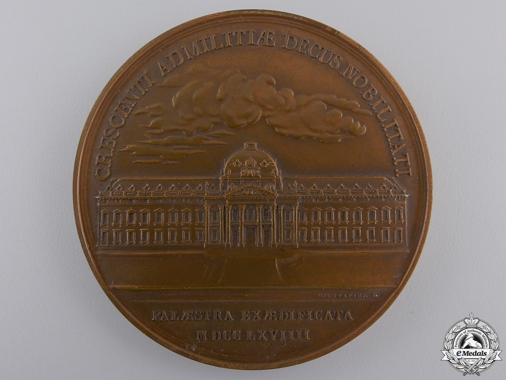 eMedals-A French Institute of Higher Studies for National Defense Medal