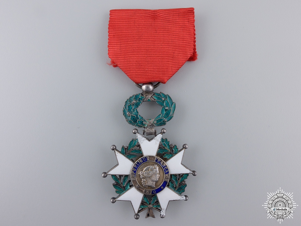 eMedals-A French Legion D'Honneur; Knight's Badge