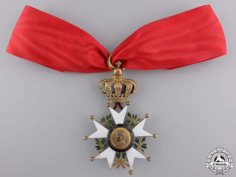 eMedals-A French Legion D'Honneur; La Presidence Commander c.1851