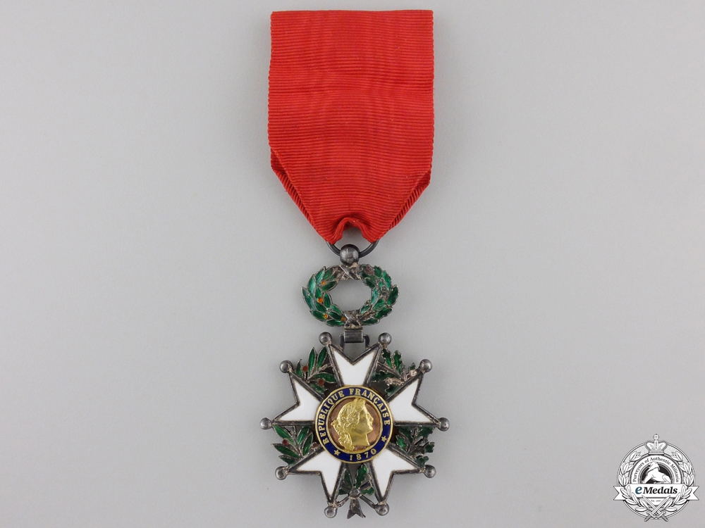 eMedals-A French Legion D'Honneur; Third Republic, Knight