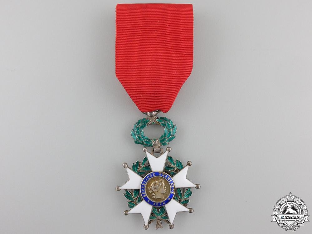 eMedals-A French Legion D'Honneur; Knight, Third Republic (1870-1951)