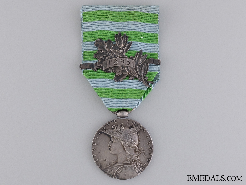 eMedals-A French Madagascar Medal; Type II for the Second Expedition
