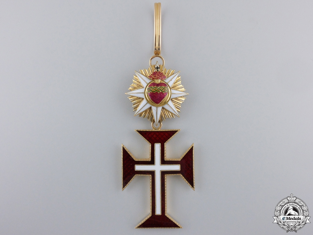 eMedals-A French Made Portuguese Military Order of Christ in Gold