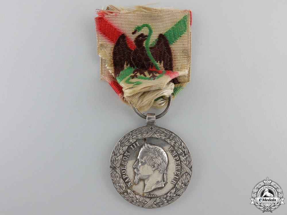 eMedals-A French Mexico Expedition Medal 1862-1863