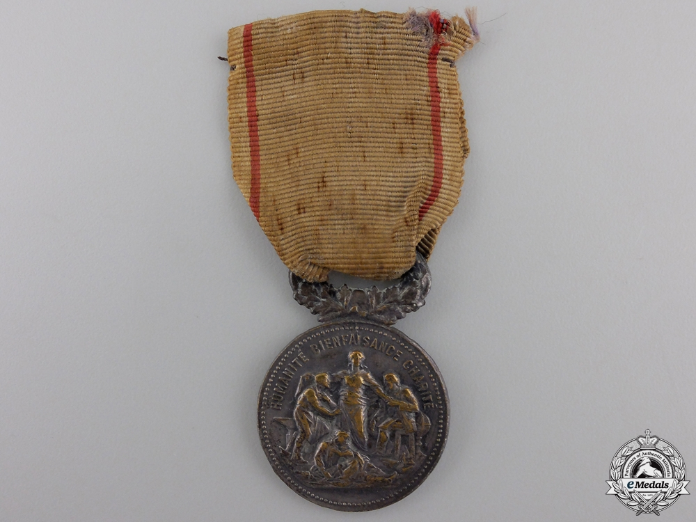 eMedals-A French National Academy of Dedication Medal for Merit in War
