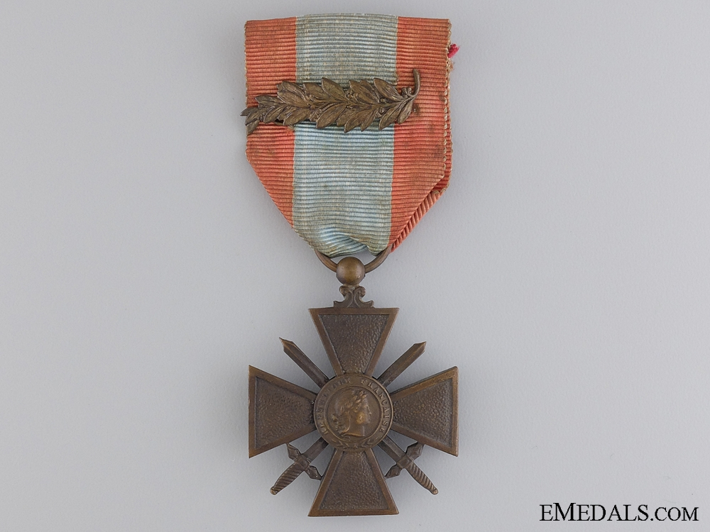 eMedals-A French War Cross for Exterior Theatres of Operations