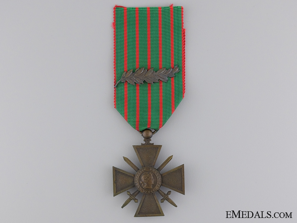 eMedals-A French WWI War Cross 1914-1916