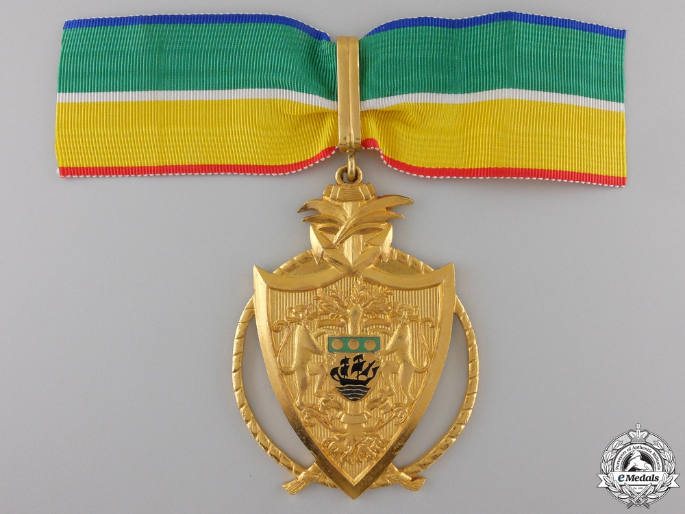 eMedals-A Gabonese National Merit Order; Commander's