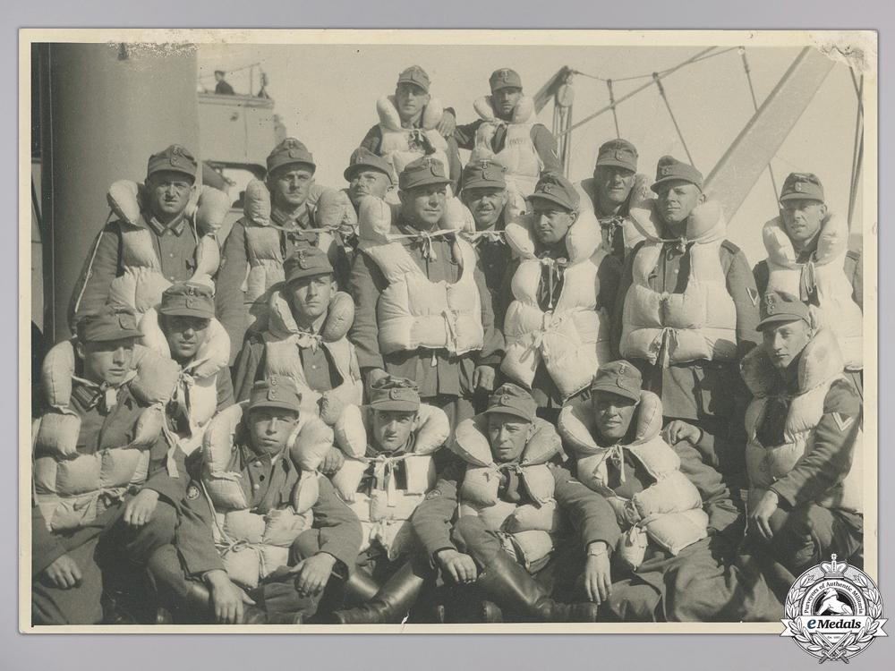 eMedals-A Gebirgsjäger Narvik Campaign Photograph