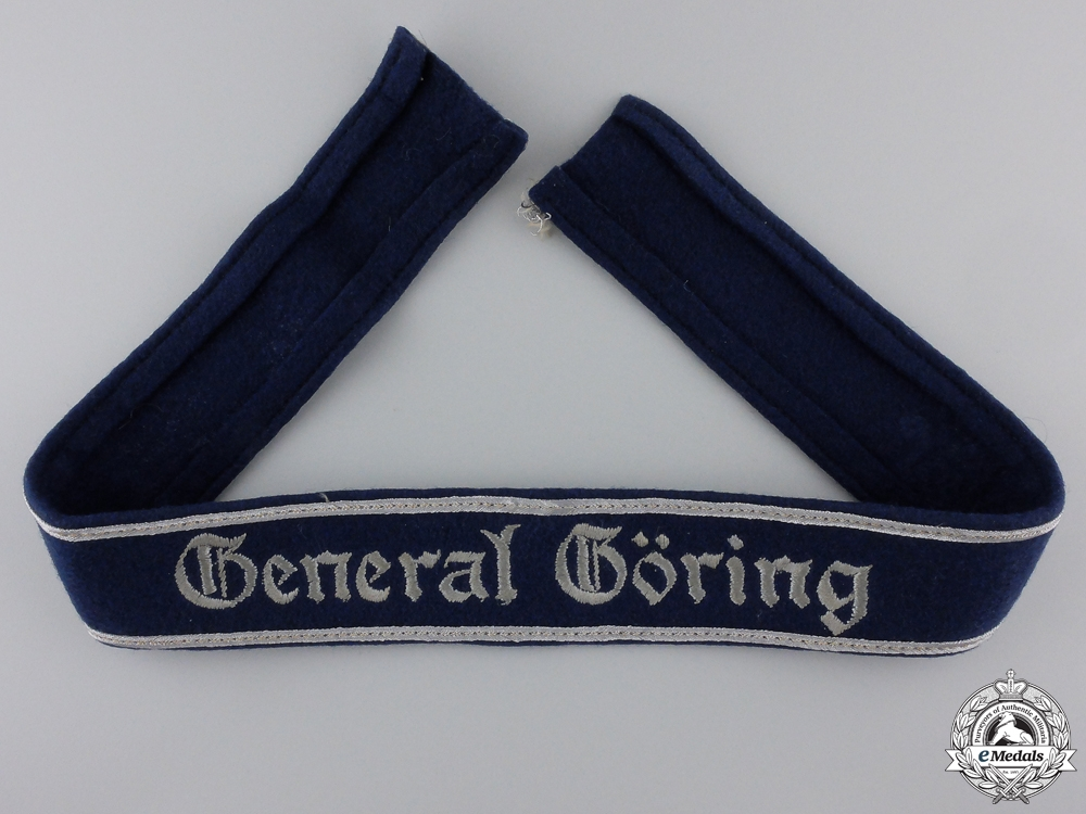eMedals-A General Göring Officer's Cufftitle