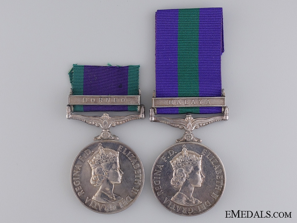 eMedals-A General Service Medal Pairing to the Gurkha Rifles