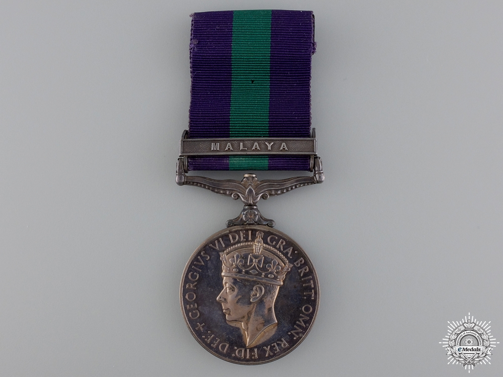 eMedals-A General Service Medal to the Federation of Malaya Police