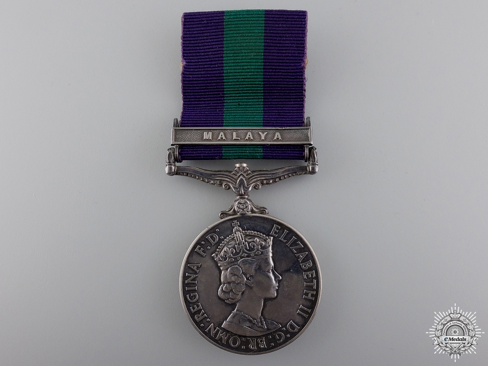 eMedals-A General Service Medal to the 2nd Lieutenant; 15th/19th Hussars