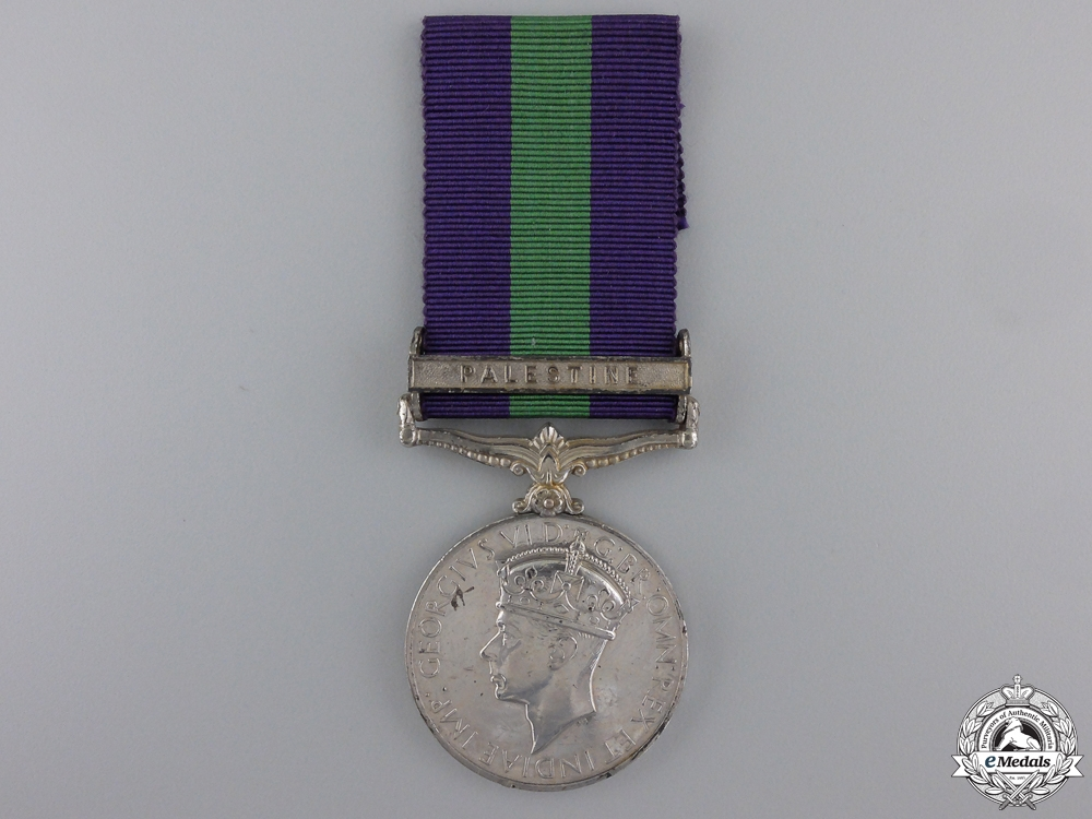 eMedals-A General Service Medal to the Royal Army Service Corps