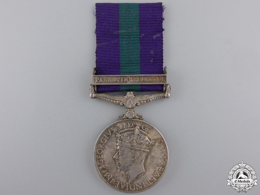 eMedals-A General Service Medal 1918-1962 to the Royal Ulster Rifles
