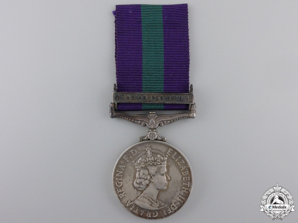 eMedals-A General Service Medal 1918-1962 to the Aden Protectorate Levies