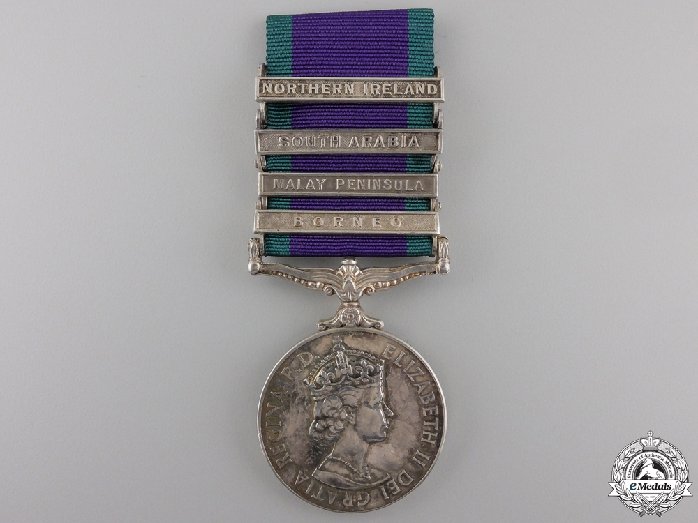 eMedals-A General Service Medal 1962-2007 to the Royal Marines