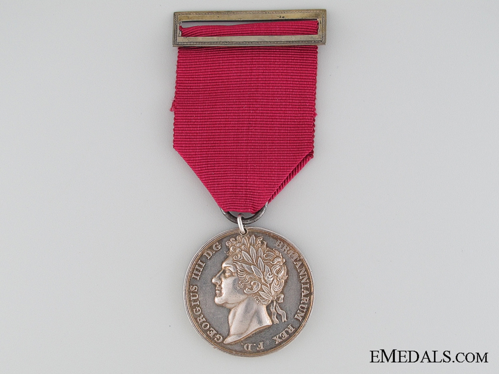 eMedals-A George IV Coronation Medal to the 1st Regiment