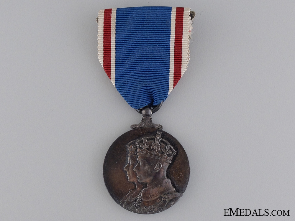 eMedals-A George the 6th Coronation Medal 1937