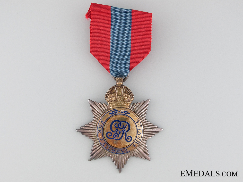 eMedals-A George V Imperial Service Order