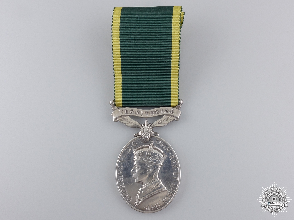 eMedals-A George VI Efficiency Medal to the Royal Engineers