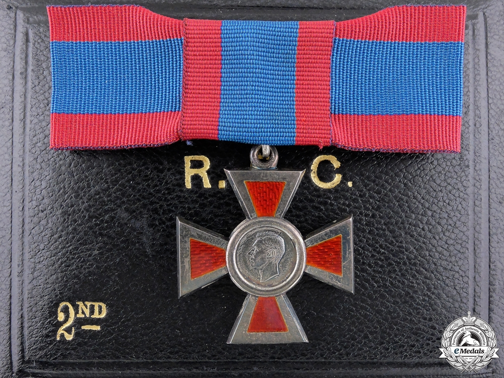 eMedals-A George VI Royal Red Cross; Second Class with Case