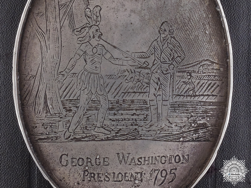eMedals-A George Washington Indian Peace Medal