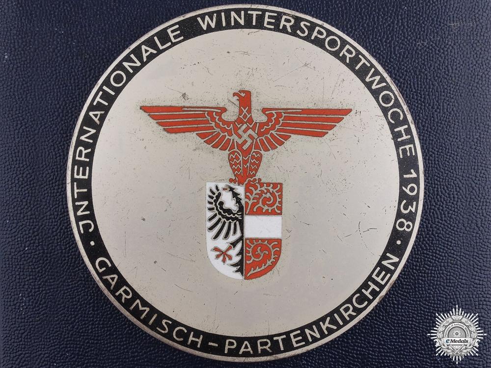 eMedals-A German 1938 Ice Hockey Winner Award
