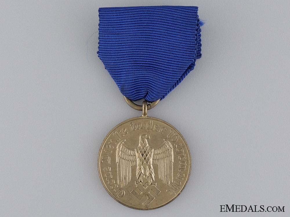 eMedals-A German Army Long Service Decoration; For 12 Years