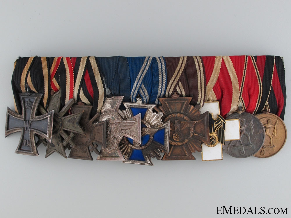 eMedals-A German Civic & Political Medal Bar