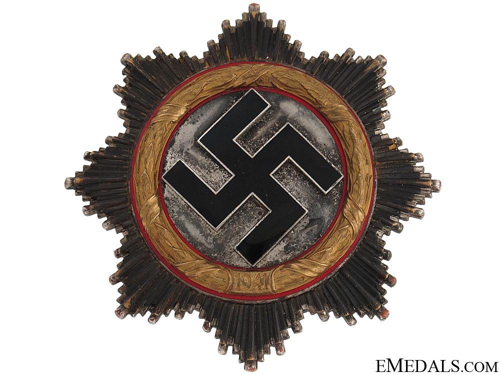 eMedals-A German Cross in Gold by Zimmermann